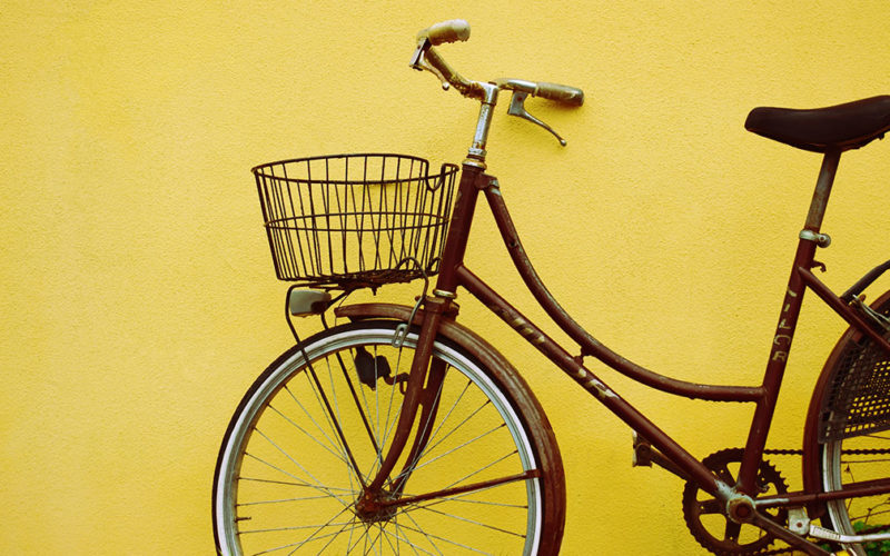 Hai una vecchia bici di cui disfarti ?