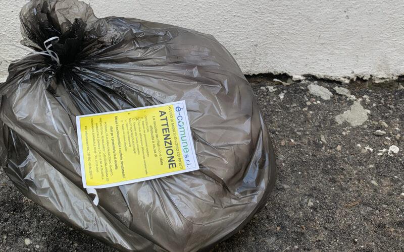 Registrate oltre 250 segnalazioni di rifiuti non conformi